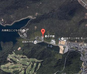 星の子館のマップ