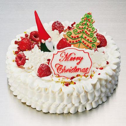 アニバーサリーのクリスマスケーキ