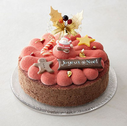 ラ・ヴィ・ドゥースのクリスマスケーキ