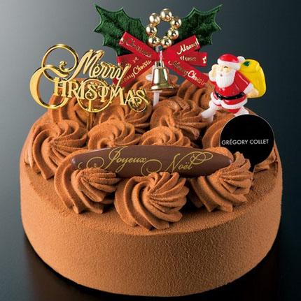 パティスリーグレゴリーコレのクリスマスケーキ