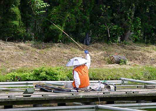 大阪の釣り場