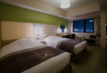 大阪の夜景がきれいに見える部屋