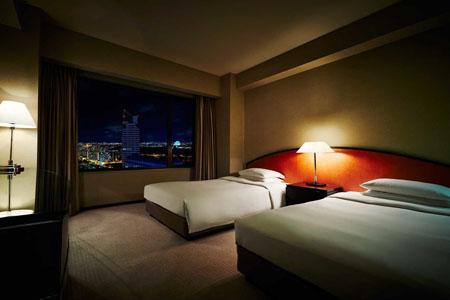 高級ホテルの夜景