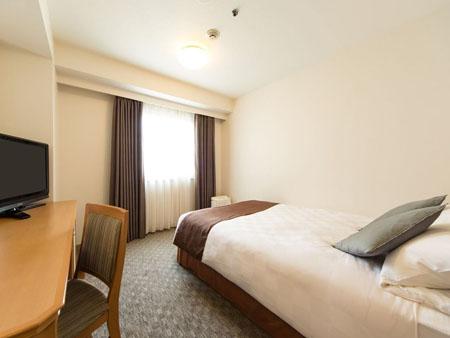 梅田のホテルの部屋