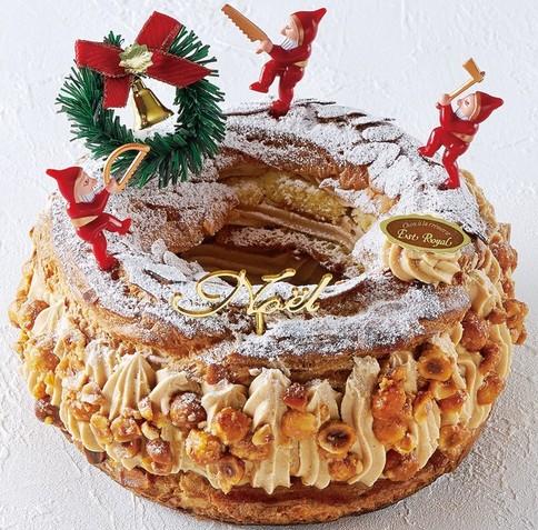 エストローヤルのクリスマスケーキ